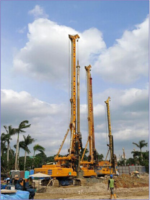 Foundation drilling equipment
