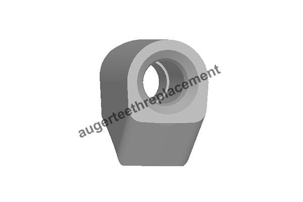 DV9 block or tooth holder for Continuous Flight Auger and Drilling Bucket